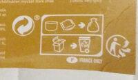 Japchae au poulet - Instruction de recyclage et/ou information d'emballage - fr
