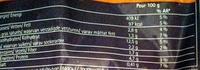 Riz, crevettes à l'indienne - Voedigswaarden