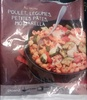 Au Menu Poulet, Légumes, Petites Pâtes, Mozzarella - Product