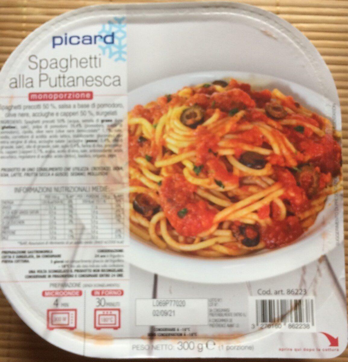 Spaghetti alla Puttanesca - Produit - fr