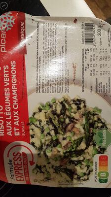 Risotto aux légumes verts et aux champignons - Prodotto - fr