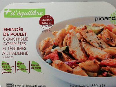 Emincés de poulet +équilibre - Product - fr
