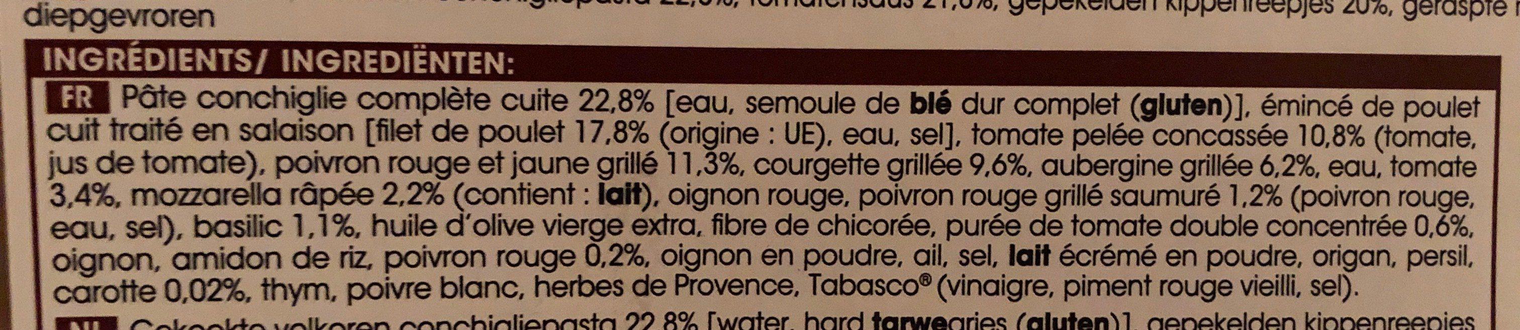 Emincés de poulet +équilibre - Ingredients - fr