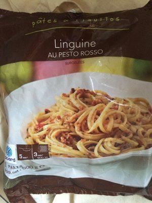 Pâtes linguines aux pesto rosso - Product