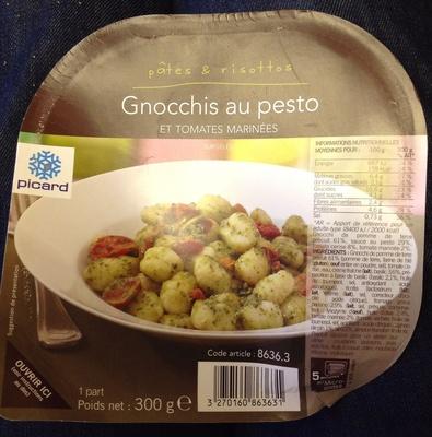 Gnocchis au pesto et tomates marinées - Produkt - fr