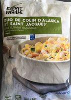 Duo de colin d'Alaska et St Jacques - Product