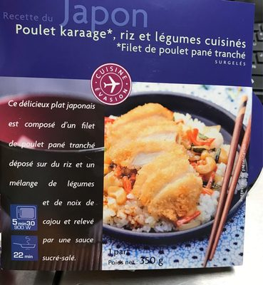 Poulet karaage - Produit - fr