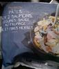Pâtes aux 2 saumons, légumes, sauce au fromage ail et fines herbes, surgelées - Product