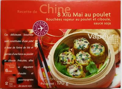 8 Xiu Mai au poulet - Product