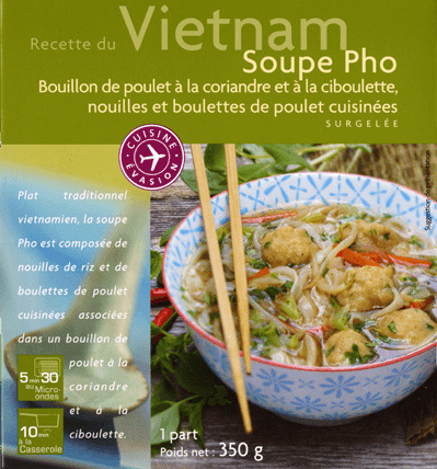 recette du vietnam soupe pho picard 350 g. Black Bedroom Furniture Sets. Home Design Ideas