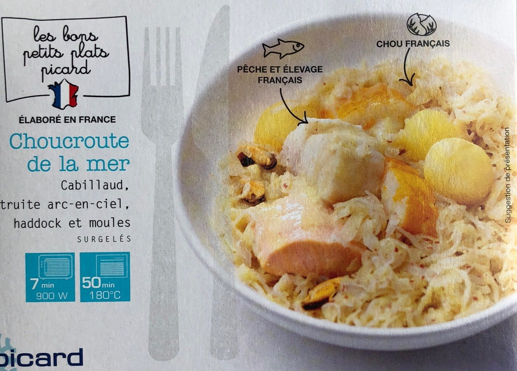 Choucroute De La Mer Picard 350 G E
