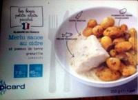 Merlu sauce au cidre et pommes de terre grenaille - Product
