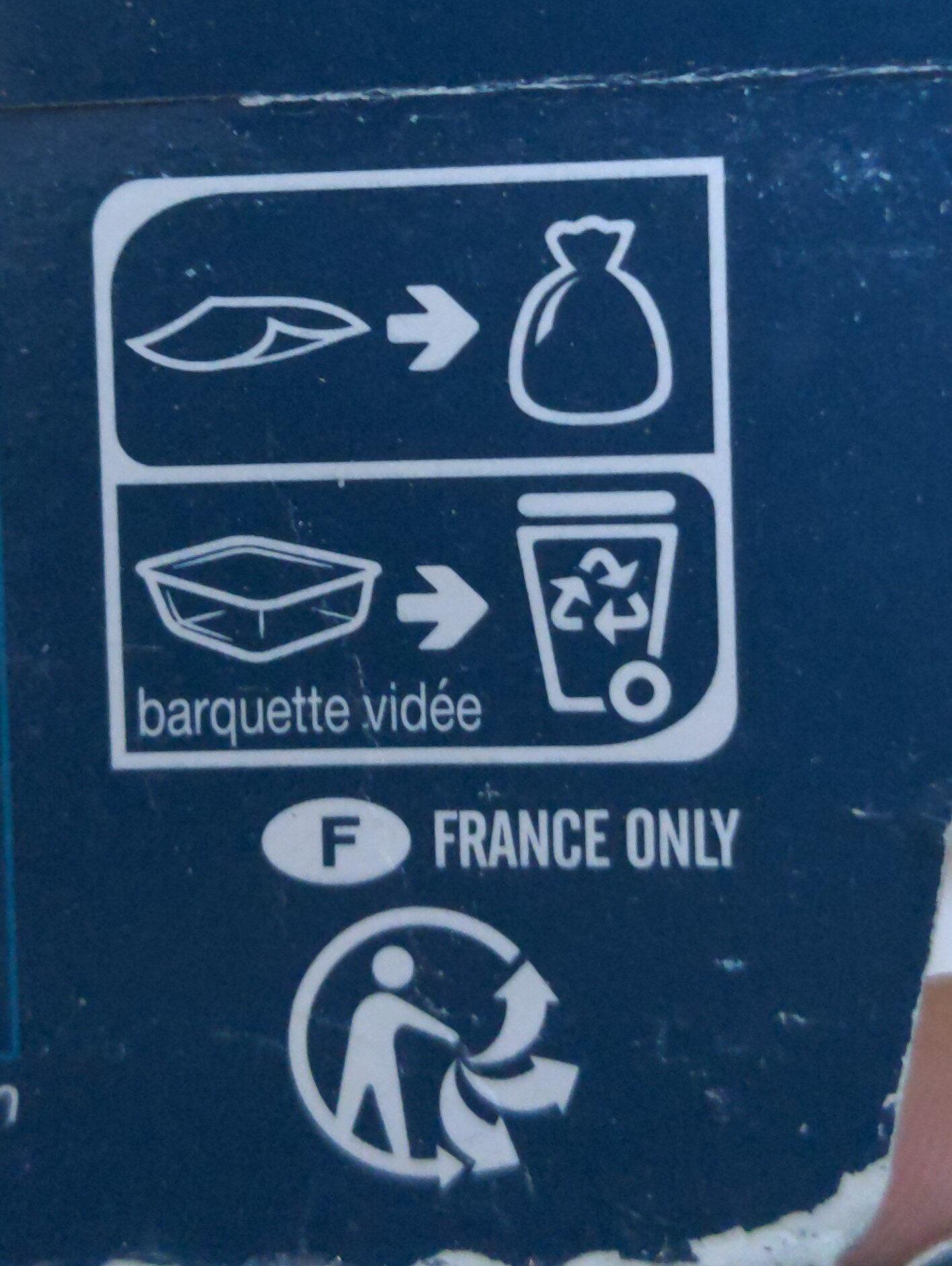 Merlu blanc sauce au cidre - Instruction de recyclage et/ou information d'emballage - fr