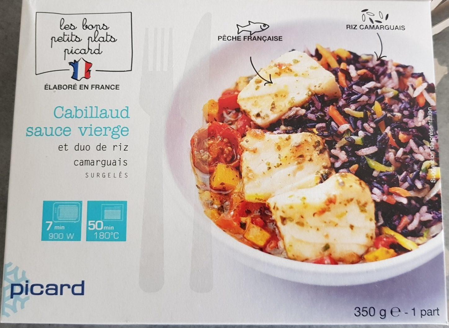 Cabillaud sauce vierge et duo de riz - Product - fr