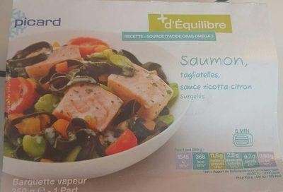 Saumon, Tagliatelles, Sauce Ricotta Citron surgelés - Product