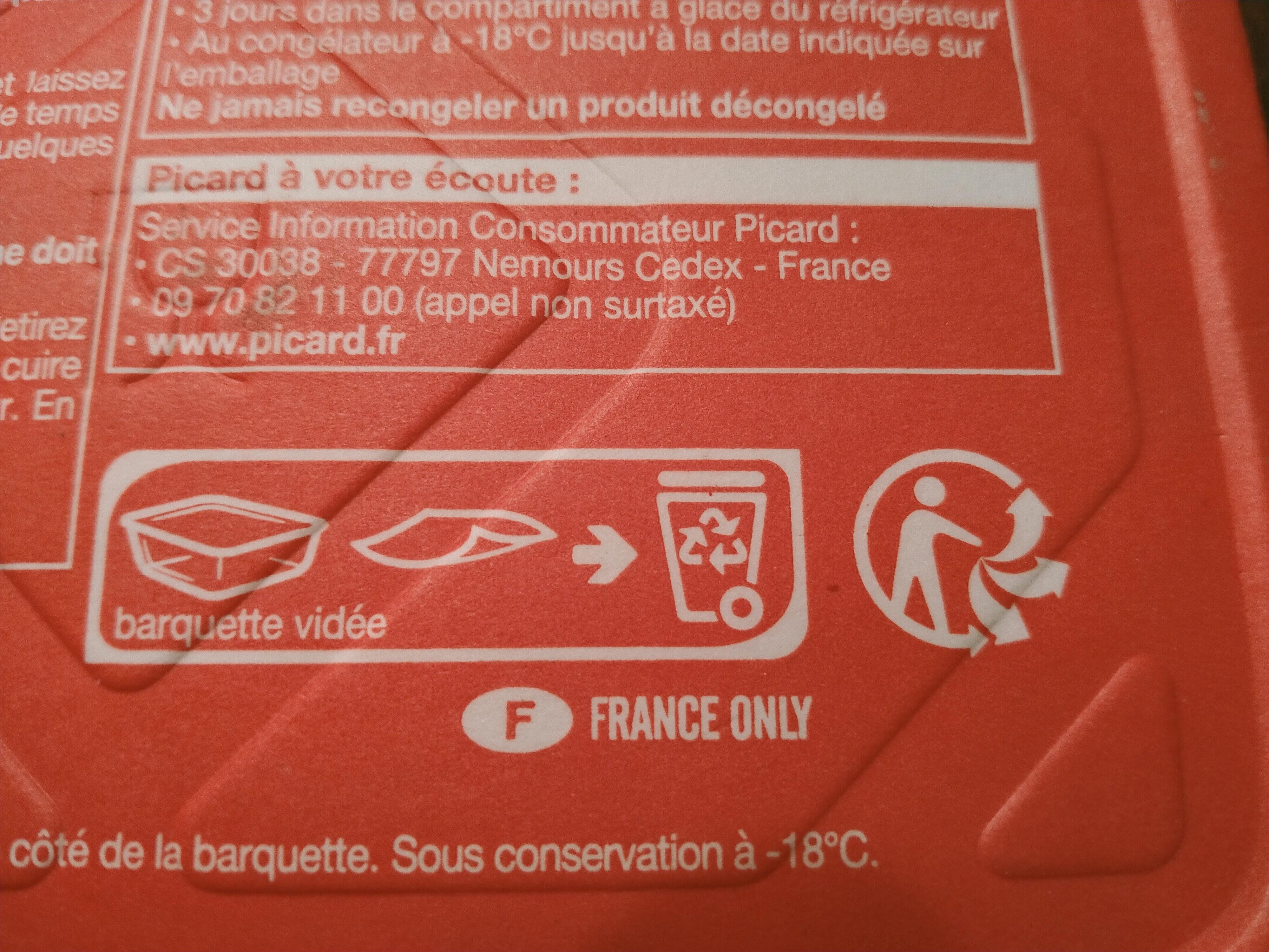 Ravioli ricotta épinard - Recyclinginstructies en / of verpakkingsinformatie - fr