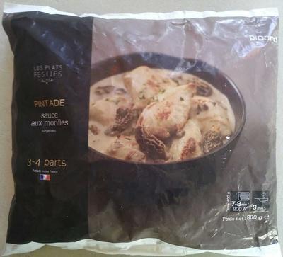 Pintade sauce aux morilles - Produit - fr
