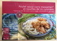 Poulet Sauce Curry Massaman et Nouilles de Riz Cuisinées - Produit
