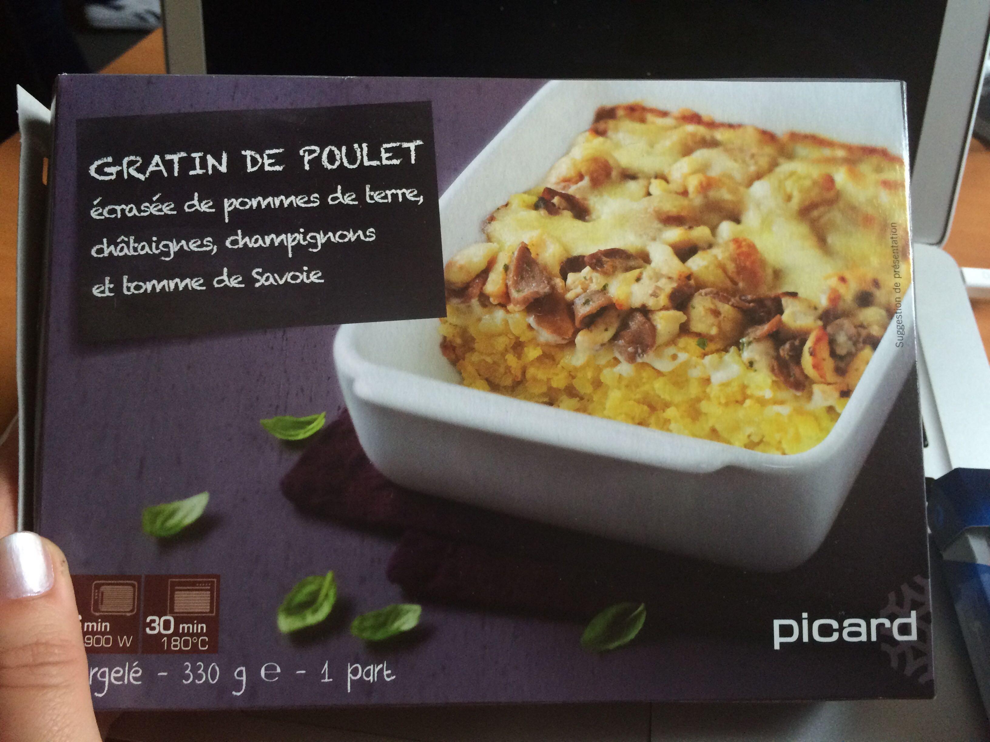 Gratin De Poulet Ecrasee De Pommes De Terre Chataignes