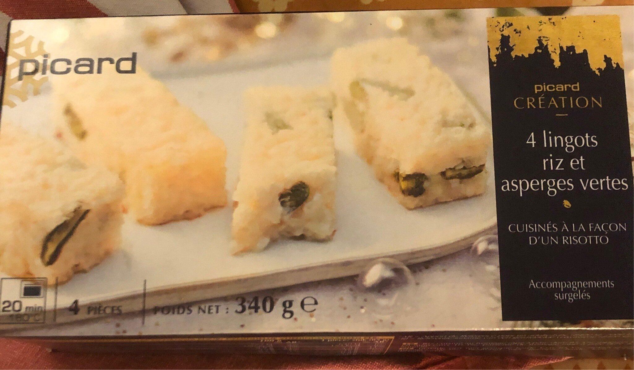 Lingot riz et asperges vertes - Produit - fr