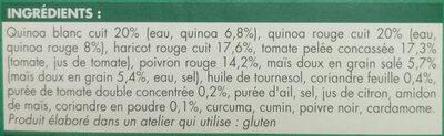 Céréales à la péruvienne - Ingrédients - fr