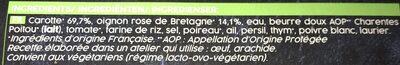 Carottes braisées aux oignons roses de Bretagne - Ingredients - fr