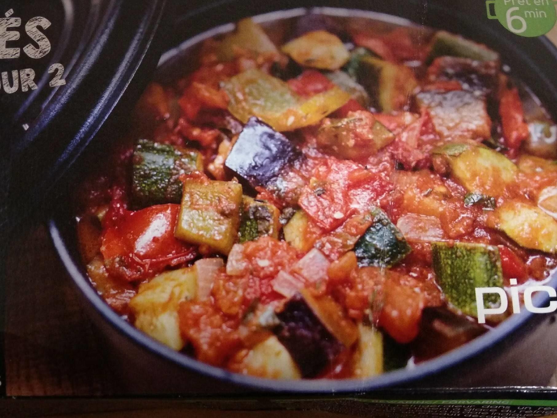 Les mijotés pour 2 Légumes Provençale - Produit