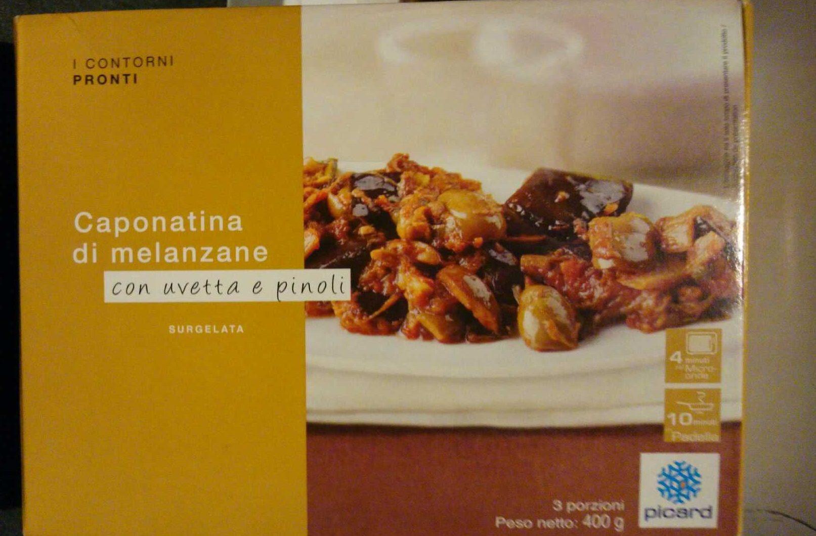 Caponatina di Melanzane con Uvetta e Pinoli - Prodotto