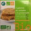 Galettes de céréales à la provençale - Product