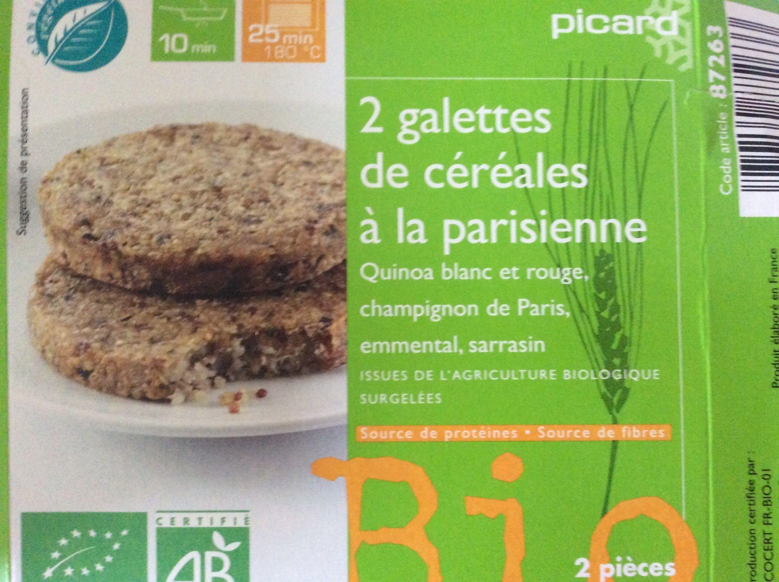Galettes de Céréales à la Parisienne - Produit