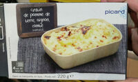 Gratin de pomme de terre, oignon, comté surgelé - Produit - fr