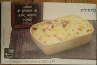 Gratin de pomme de terre, oignon, comté surgelé - Product