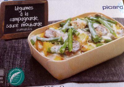 Legumes à la campagnarde sauce moutarde - Product