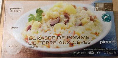 Écrasée de Pommes de Terre aux Cèpes - Product - fr