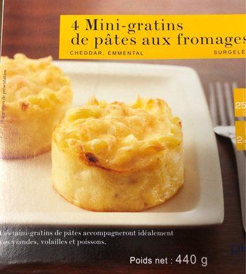 4 Mini-Gratins de Pâtes au Fromage - Produit