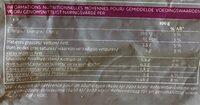 Wok de légumes - Informations nutritionnelles - fr