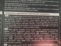 Gratin de légumes verts, céréales, sauce mascarpone - Ingrédients