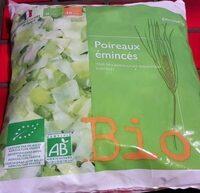 Poireaux émincés Bio - Produit - fr