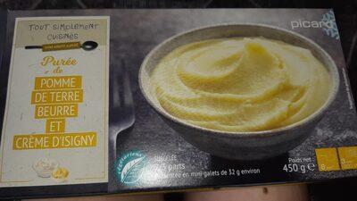 Purée de pomme de terre au beurre et crème d'Isigny - Produit - fr