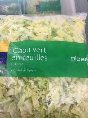 Chou vert - Produit