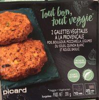 Galettes vegetales provencale - Produit - fr