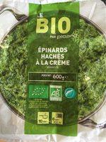 Épinards Hachés à la Crème Bio - Produit