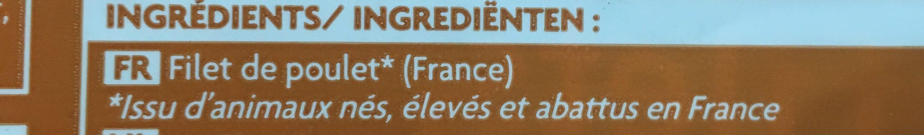 2 Filets de Poulet de Classe A - Ingredients