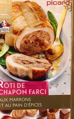 Rôti de Chapon Farci aux Marrons et au Pain d'Épices - Produit
