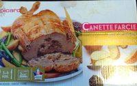 Canette farcie aux pommes et pruneaux - Produit - fr
