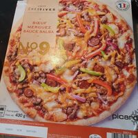 Pizza N°9 - Boeuf, Merguez, Sauce Salsa - Product - fr