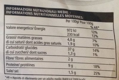 Piccoli Tomate Fromages - Nutrition facts - fr