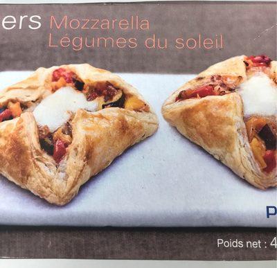 4 Paniers Mozzarella Légumes du Soleil - Product