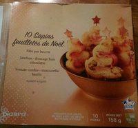 10 Sapins Feuilletés de Noël - Product - fr