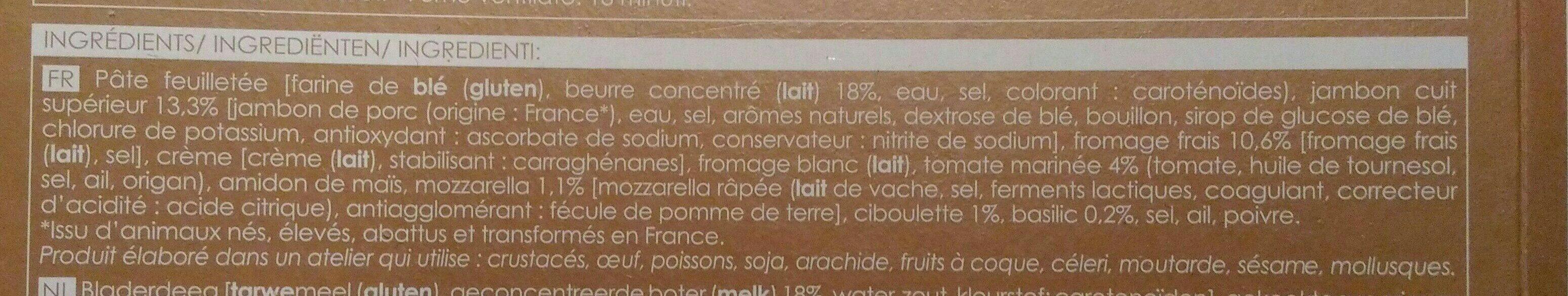 10 Sapins Feuilletés de Noël - Ingredients - fr